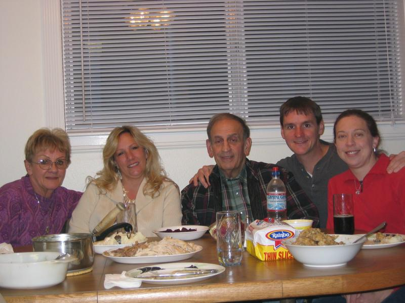 Mom, Sherry, Dad, Dennis, and Me