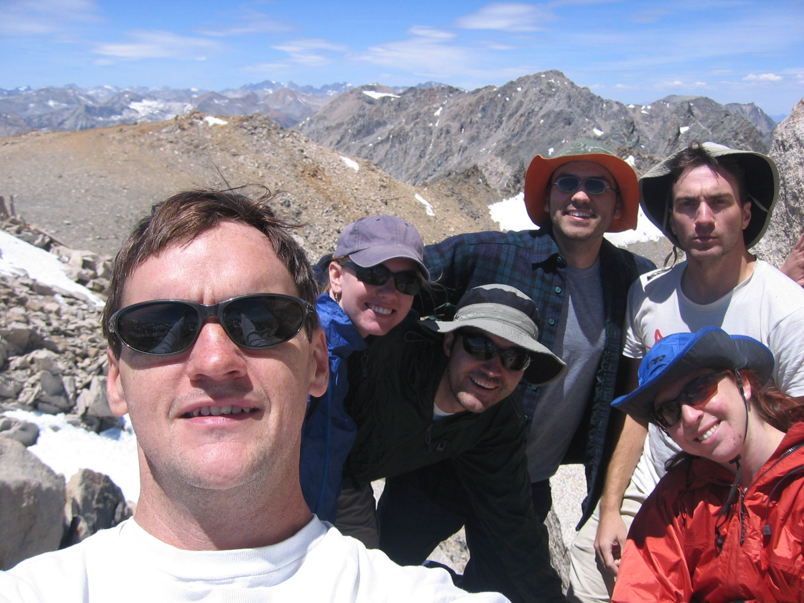 Summit of Mt. Gould (13,005 ft) Group Shot