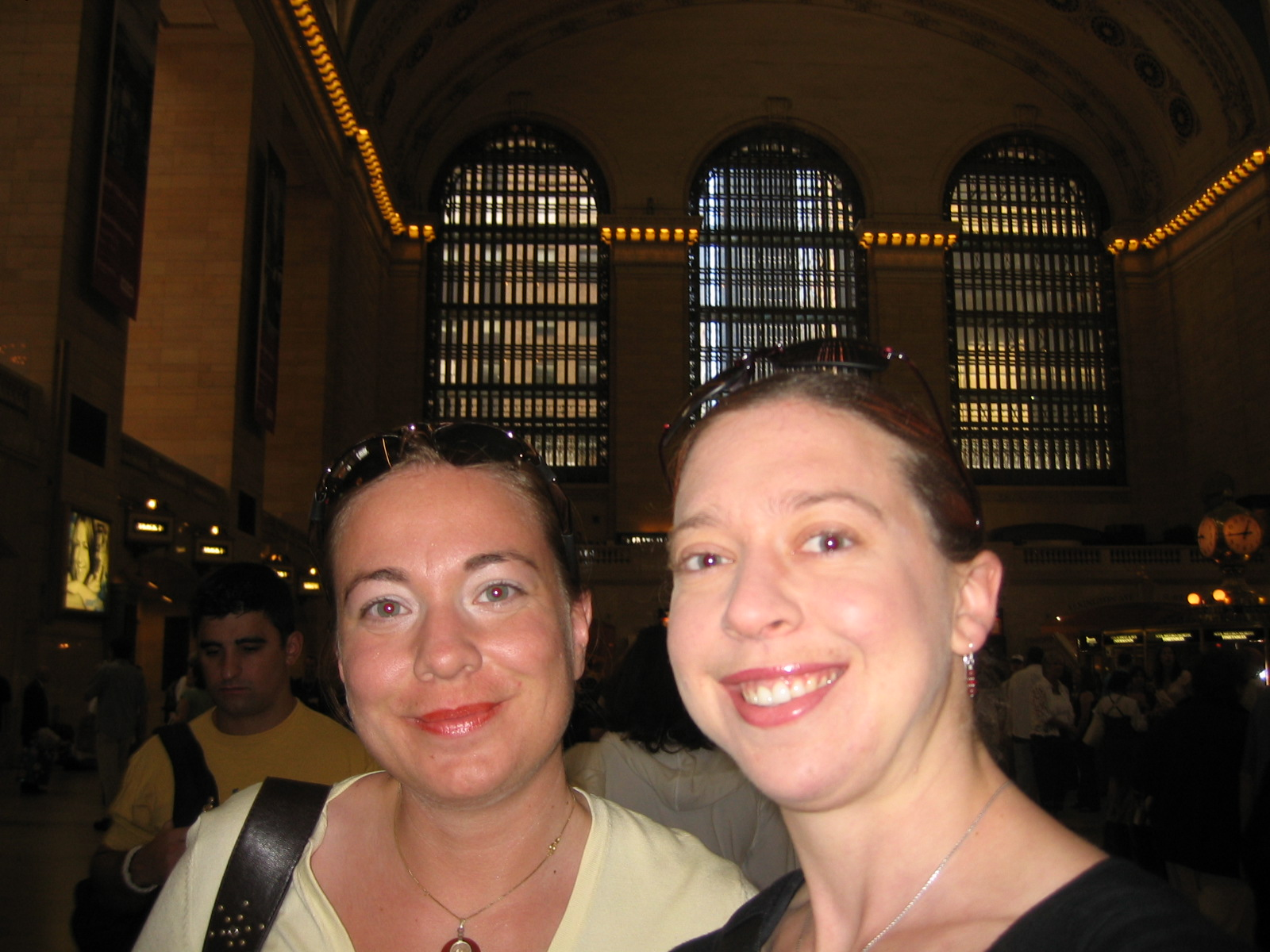 Nalan & Clare in Grand Central Station