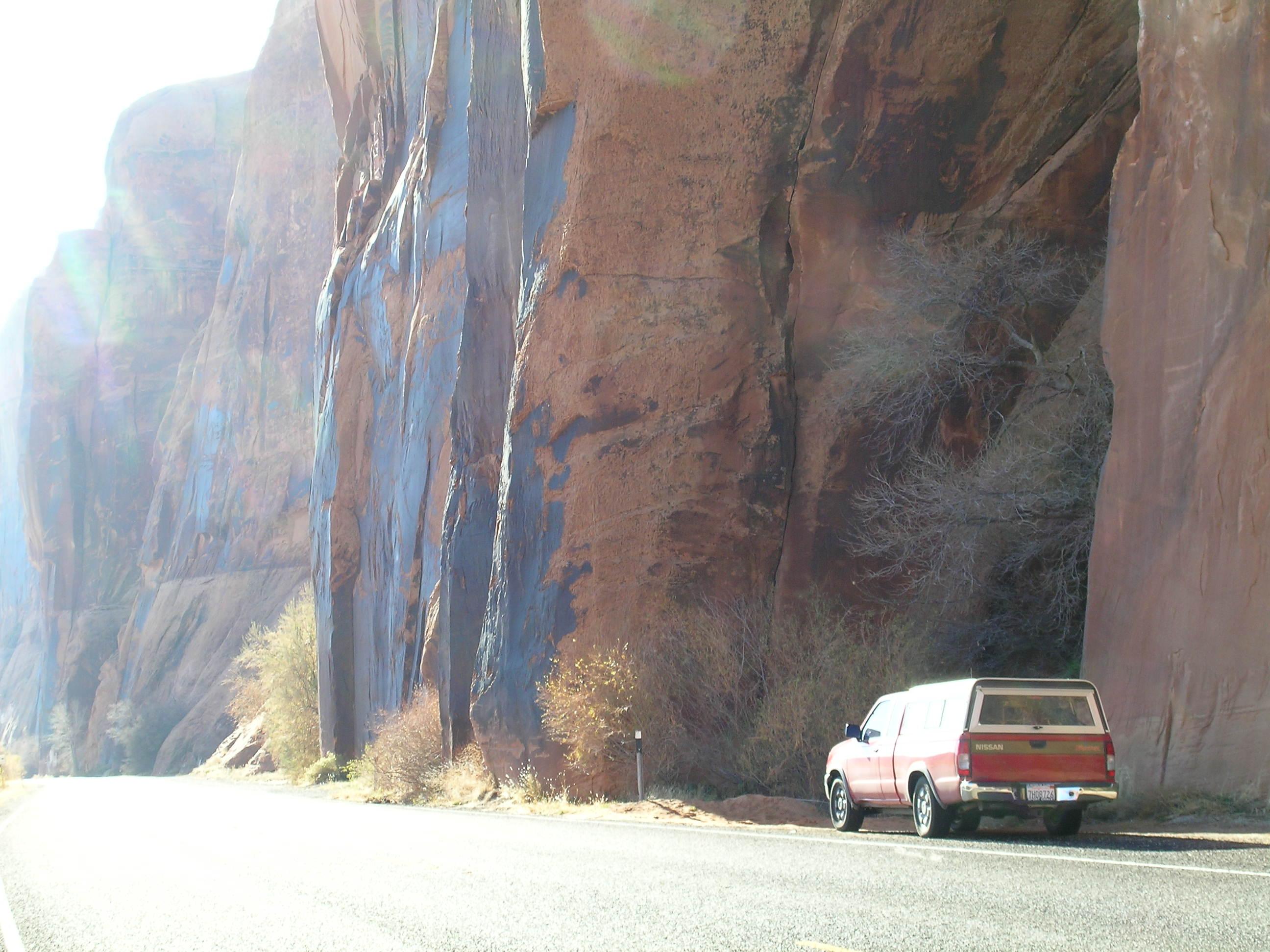 Roadside Climbing at it's best!