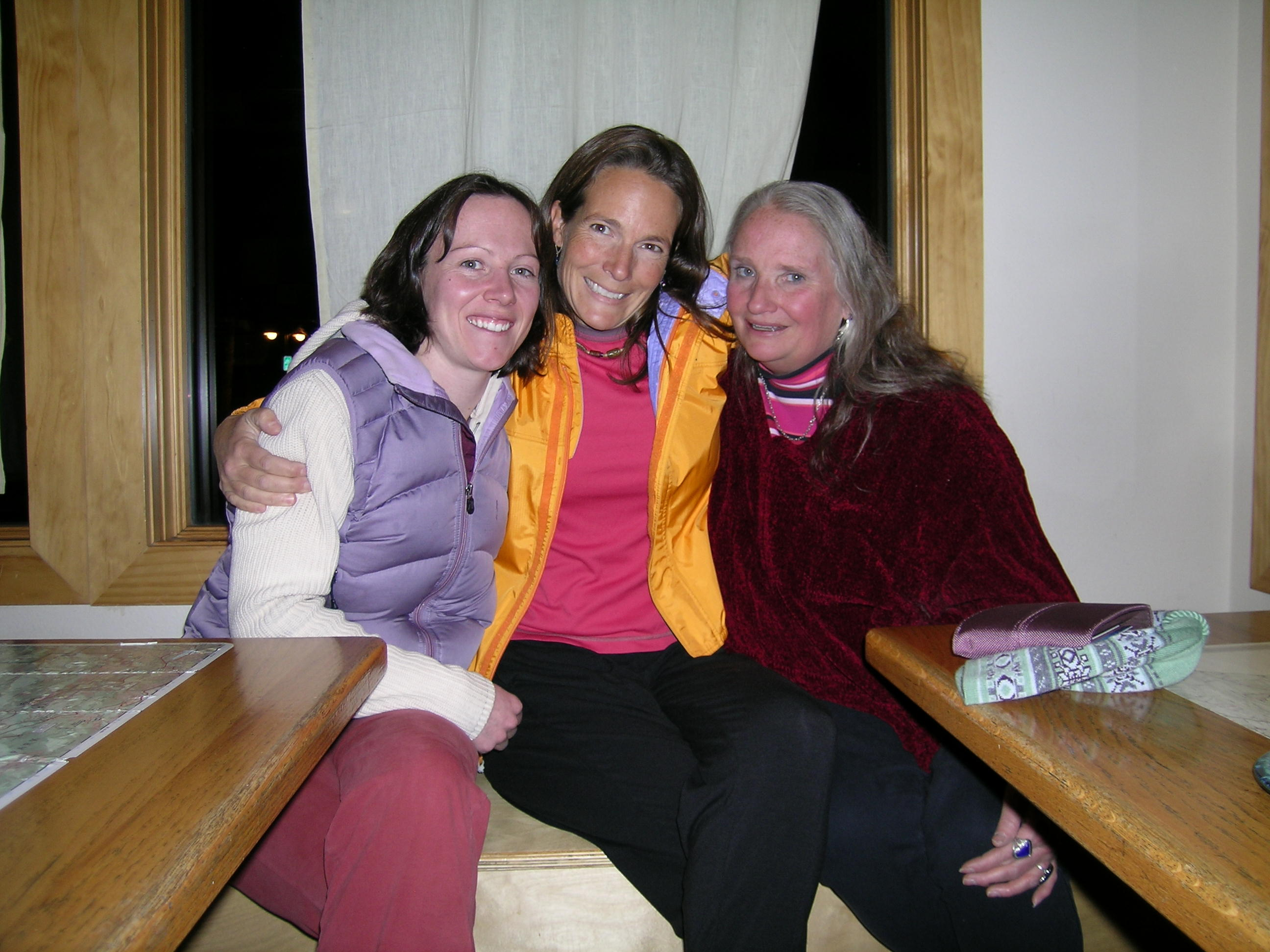 Emily, Holly, & Lorna at Kind Coffee, Estes Park