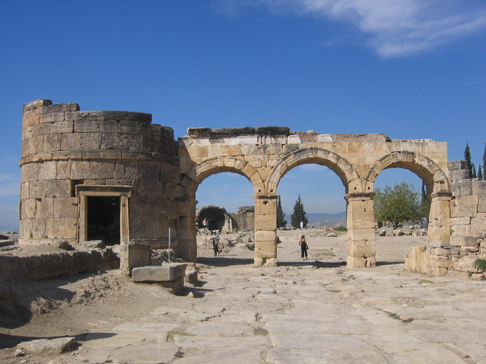 Roman Arches & Structure at Hierapolis